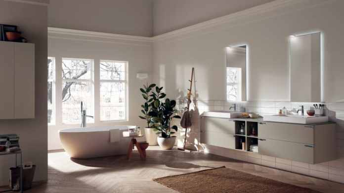Like its German competitors, Scavolini has also opened up to the living and bathroom spaces - with aesthetic success.  (Photo: Scavolini)