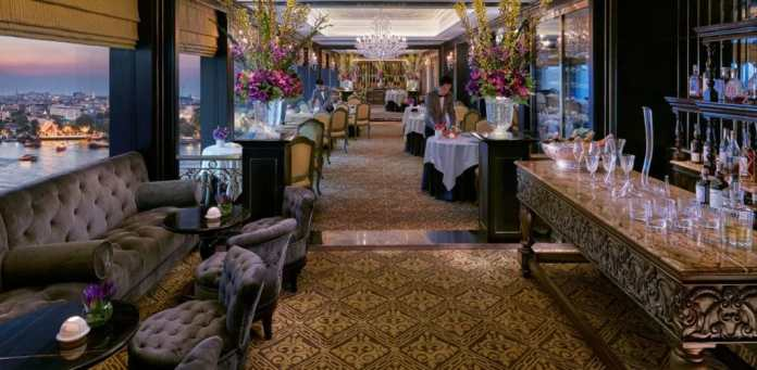 """France in the world: """"Le Normandy"""" is a posh restaurant in the Thai capital Bangkok.  This, too, is a facet of the French interior design style.  (Photo: Mandarin Oriental Bangkok)"""
