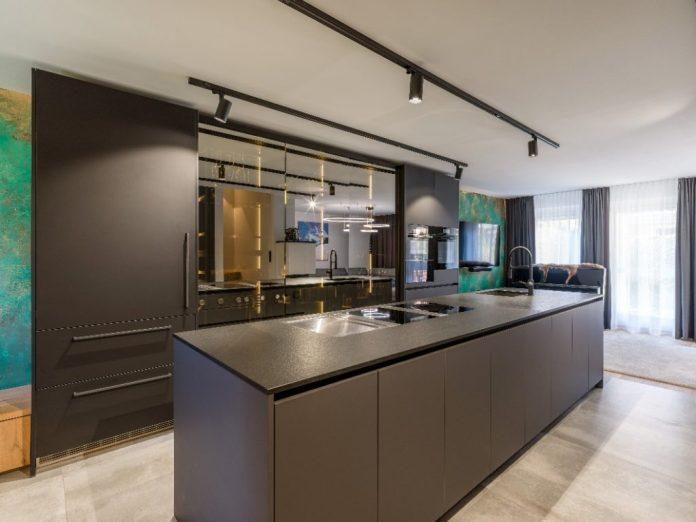 Christina Steindl's professional kitchen