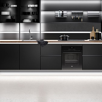 schwarze nobilia küche