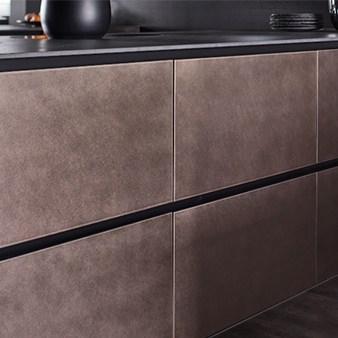 warendorf metallic küche steel