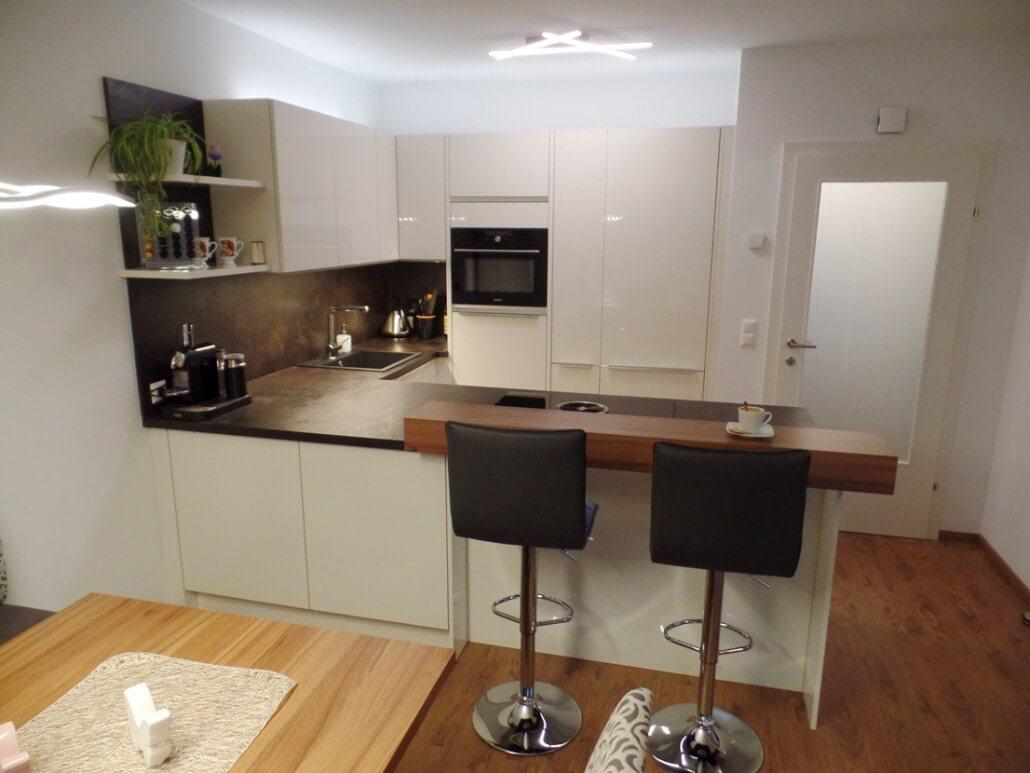 Küche in U Form mit Bar schöne Ideen und Bilder für ...