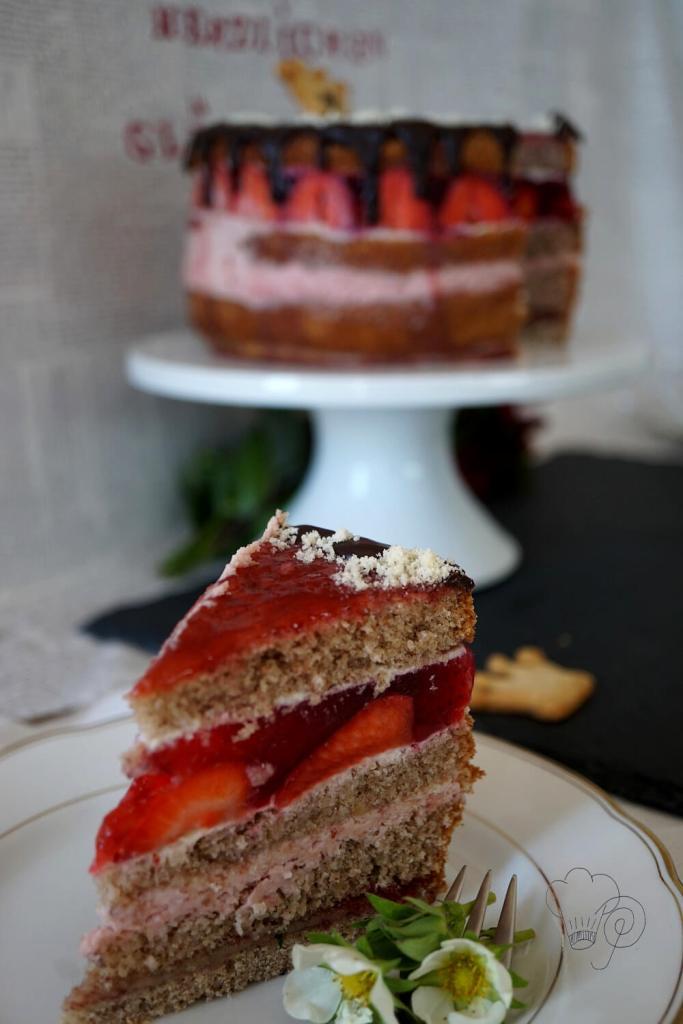 Tortenstück Geburtstagstorte Zentis