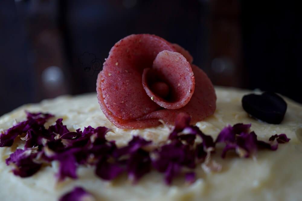 Erdbeer-Rosen-Torte – Heute vor 6 Jahren…