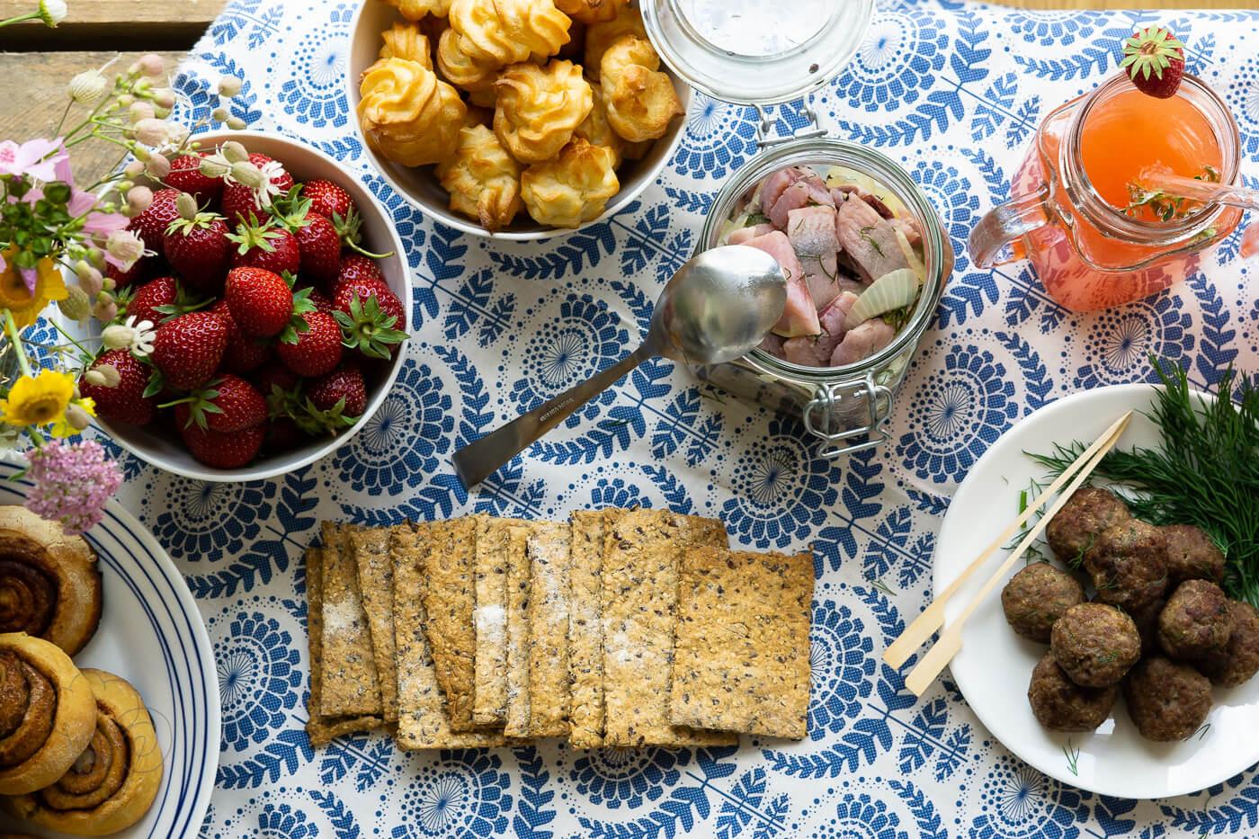 Zimtschnecken – Mittsommer-Fest