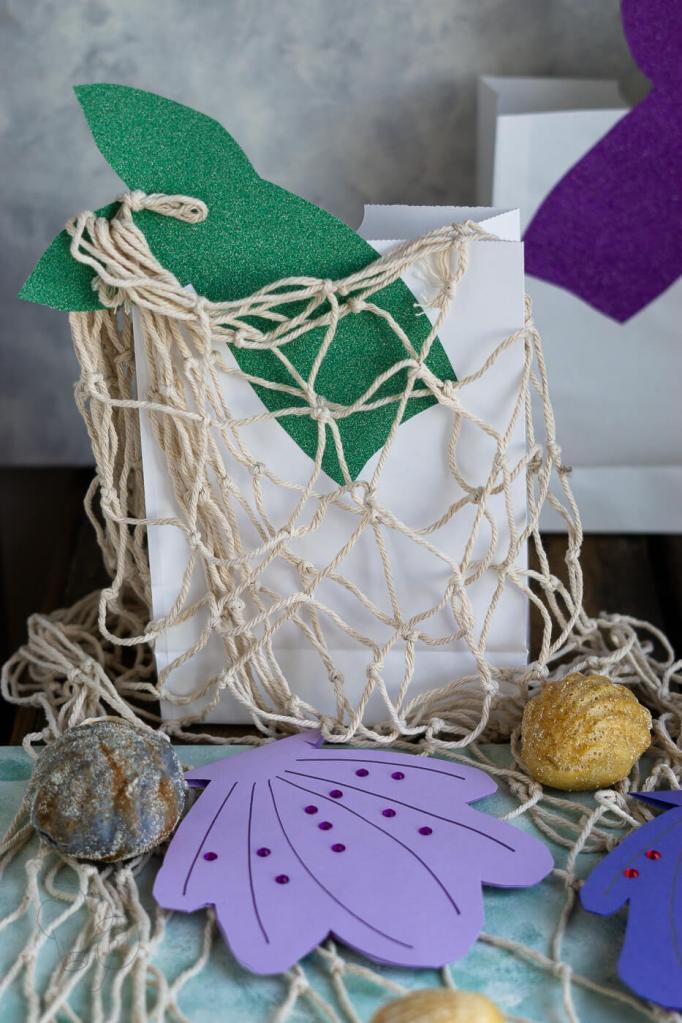 Meerjungfrauen-Kindergeburtstag Mitgebseltüte