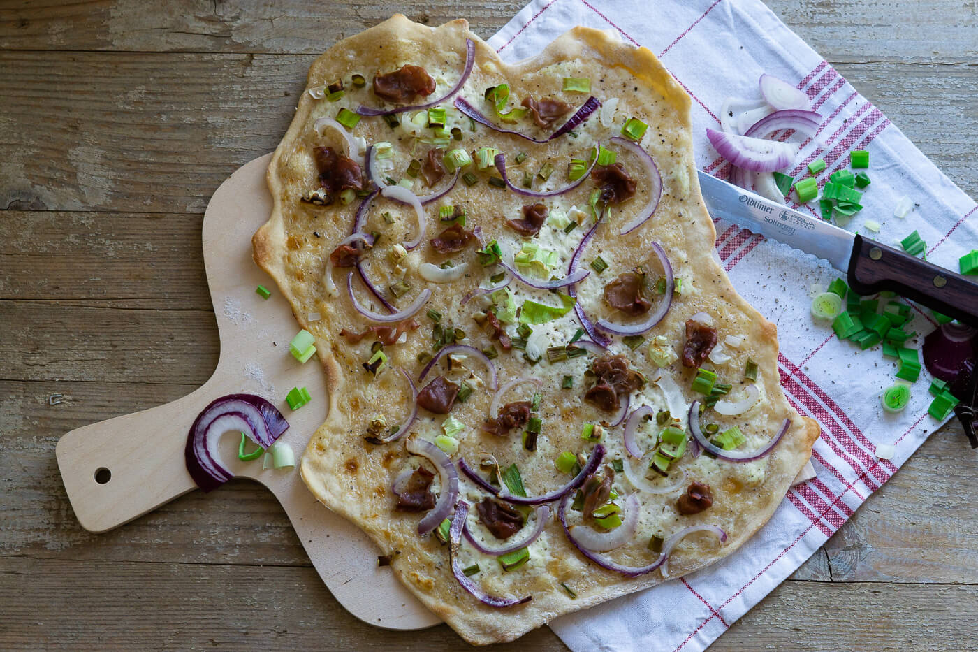Flammkuchen – All you need is