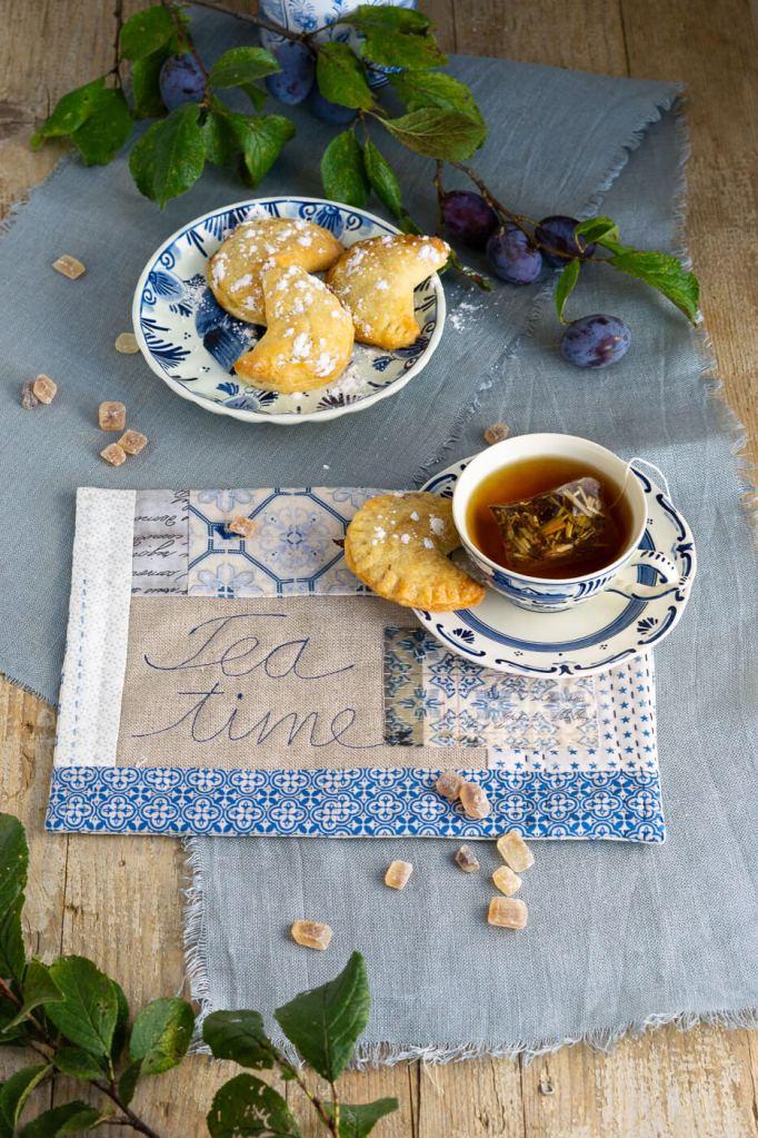 Zwetschgentaschen für die Tea Time