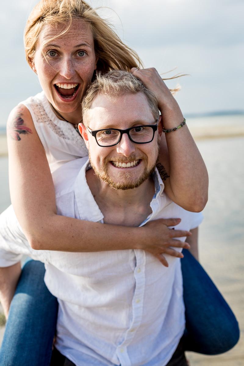 paarshooting strand laboe küstenbraut Verlobung
