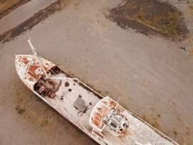 Garðar - aus Sicht der Drohne