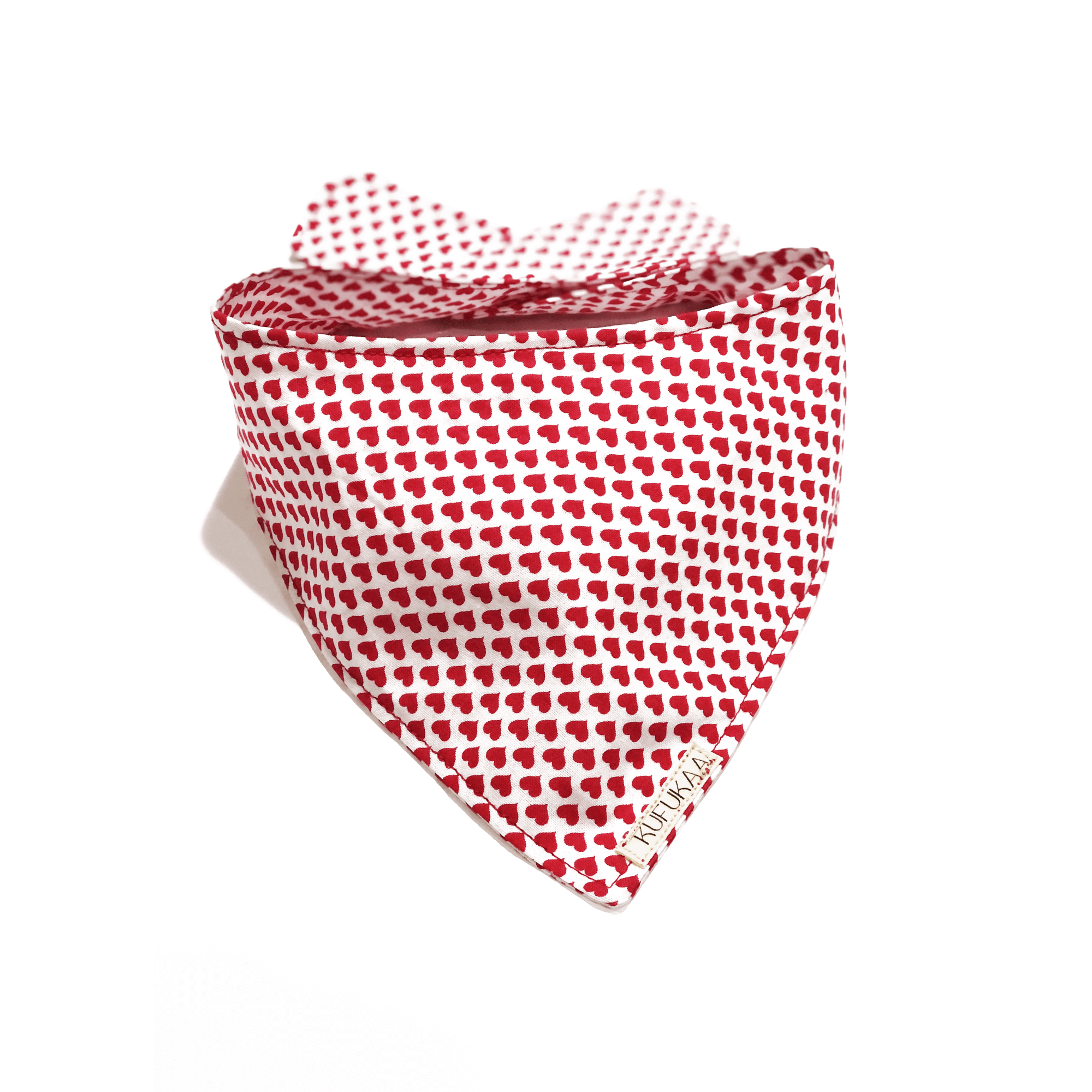 Kufukaa Pink Plaid Checkered Dog Bandana