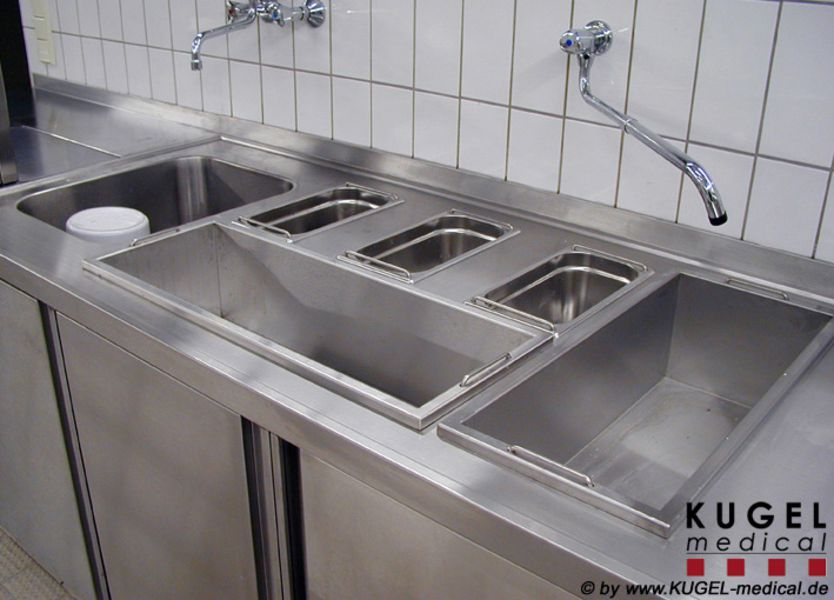 wall mounted stainless steel sink