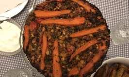 Nut & Courgette Roast ili vegeterijansko pecenje