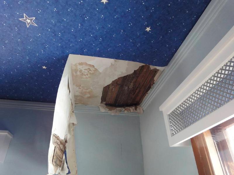 Ceiling Leaks Repair Integralbook Com. Hurricane Roof Leak Repair
