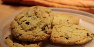 cookies noisette à la farine de maïs