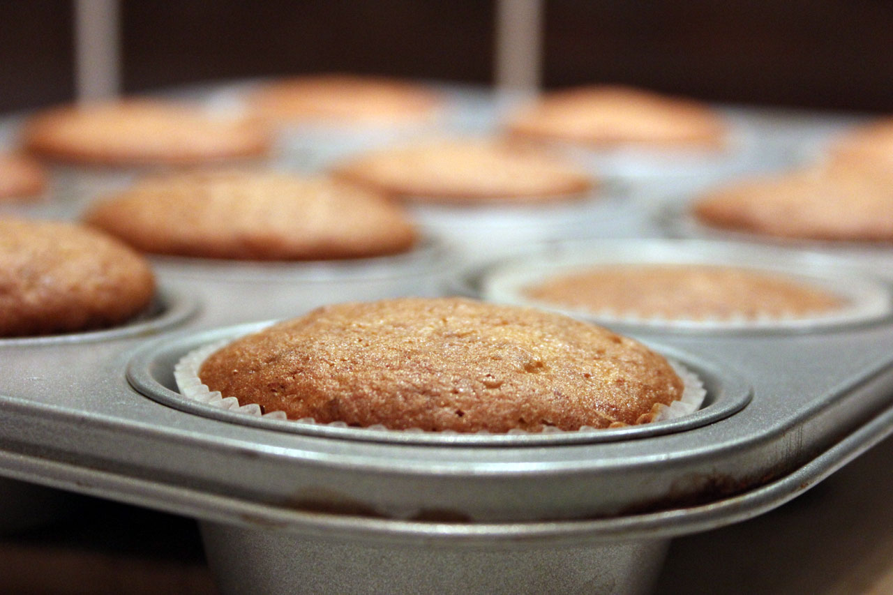 Muffin Banane/Cannelle
