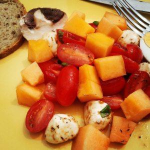 Salade au melon