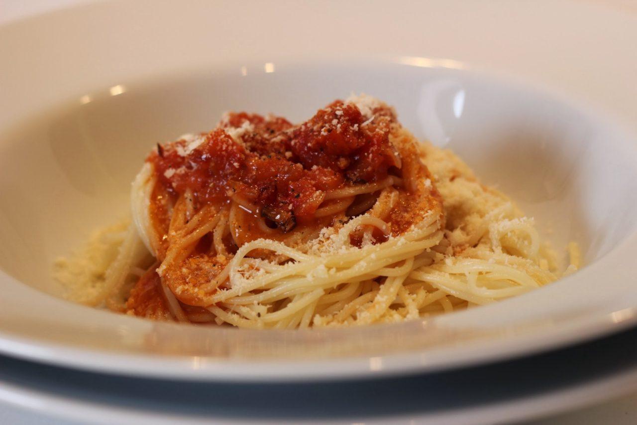 Spaghetti à la napolitaine