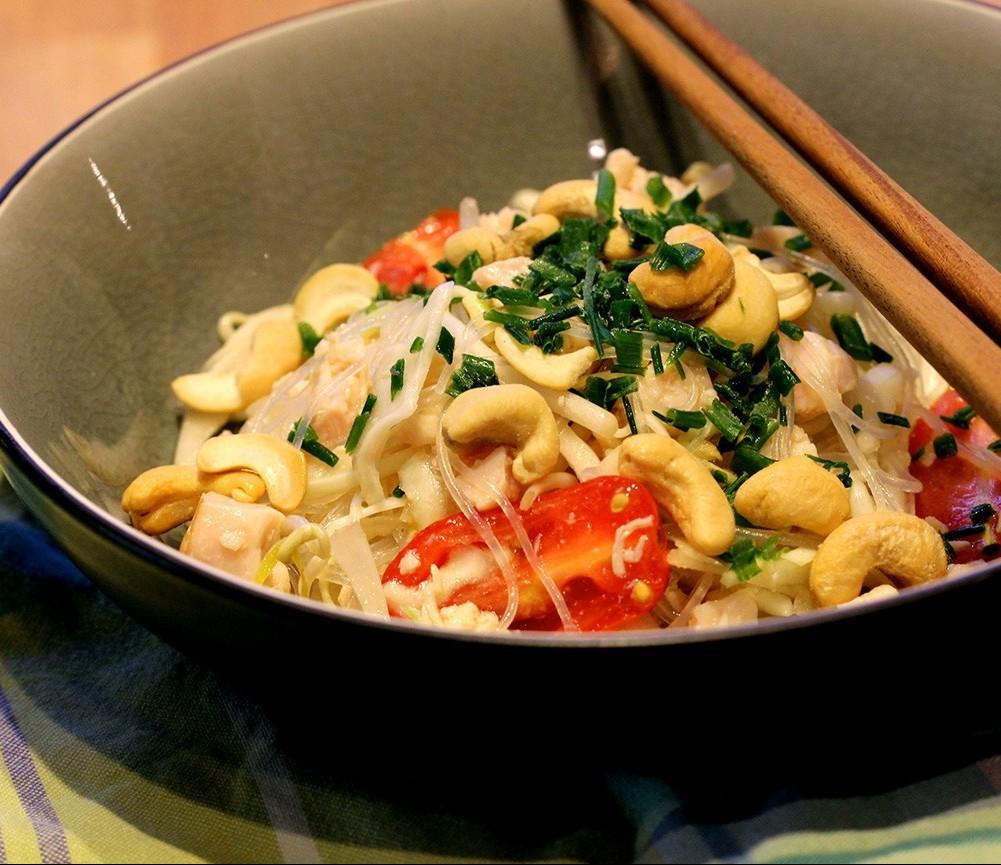 Salade rapide asiatique