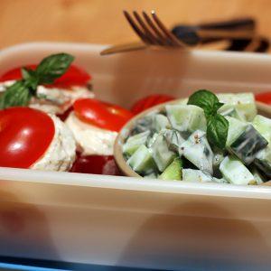Lunch box végétarienne