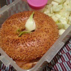lunchbox #5 – Bagel