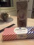 DIY joulukalenteri - Luukku 22 Lahjaidea - suklaarasiakortti