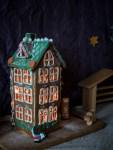 DIY joulukalenteri - Luukku 6: Piparkakkutalo