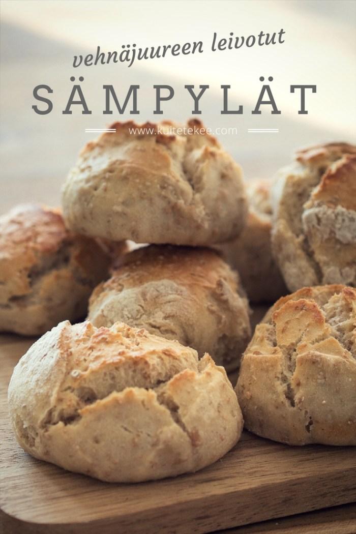 Vehnäjuureen leivotut sämpylät   juurileivonta   hapanjuuri