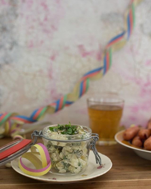 Peruna-kukkakaalisalaatti | perunasalaatti | vappu | kukkakaali