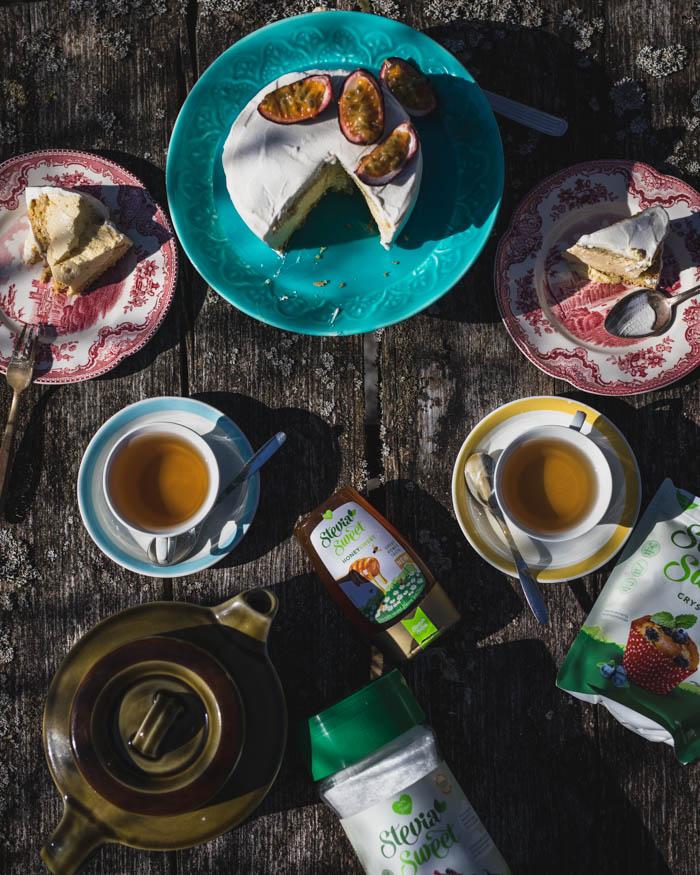 Täytekakku ilman sokeria | sokeriton | gluteeniton | jauhoton | vähähiilihydraattinen