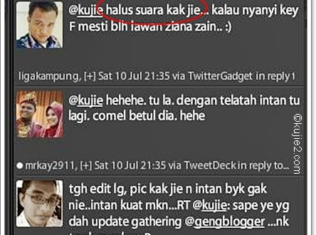 Update Gathering GengBlogger