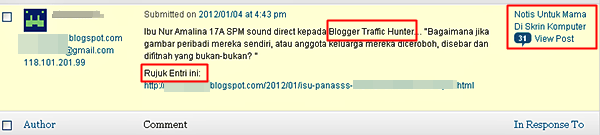Siapakah Blogger Traffic Hunter