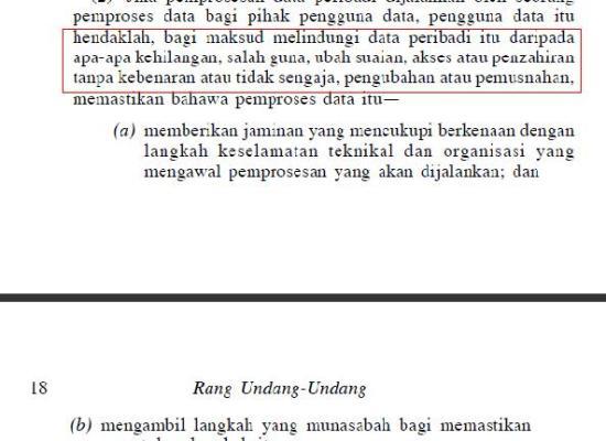 akta perlindungan data peribadi 2010