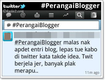 Monday Morning : Perangai Blogger
