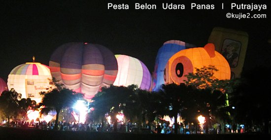 pesta belon udara panas antarabangsa putrajaya