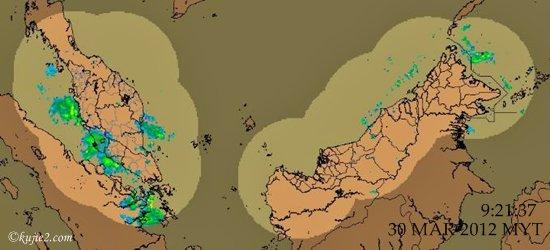 Jabatan Meteorologi :  Gempa Bumi Dan Amaran Peringkat Jingga