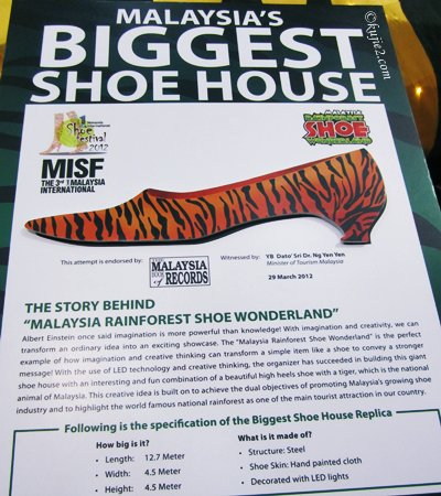 Malaysia's Biggest Shoe House