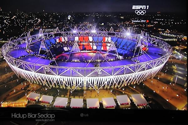 gambar pembukaan sukan olimpik 2012