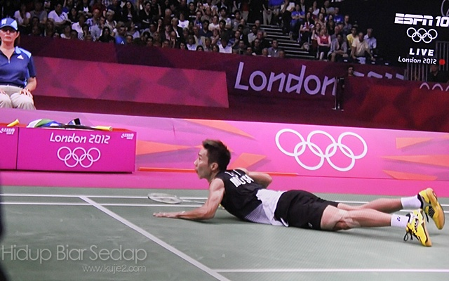 separuh akhir badminton olimpik 2012