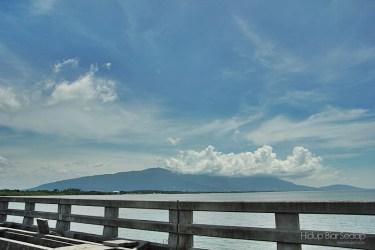 gunung jerai dari pulau bunting
