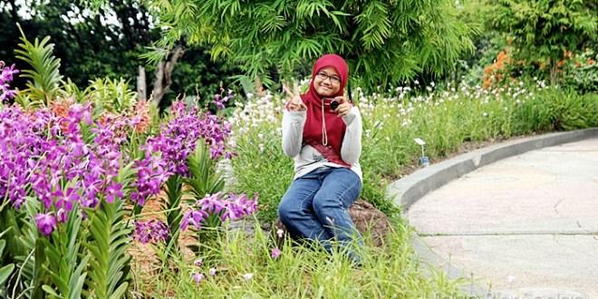 Kembang Perawan Di Taman Orkid Kuala Lumpur