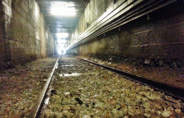 terowong bawah tanah lombong bijihtimah