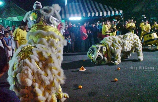 tarian singa tahun baru cina