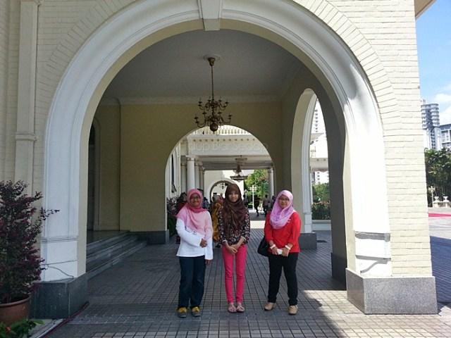 melawat muzium diraja istana negara