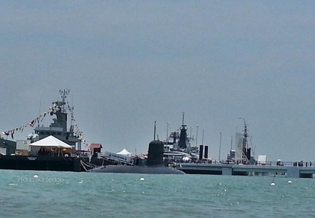 kapal selam di LIMA Langkawi