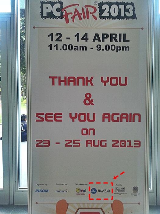 pc fair 2013