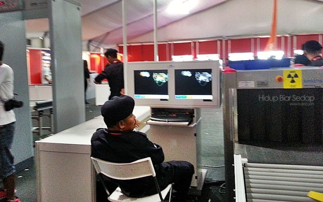 Pemeriksaan keselamatan LIMA 2013