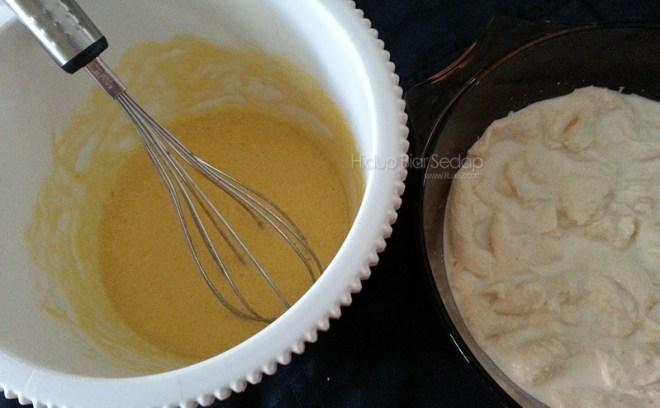 cara memasak puding roti