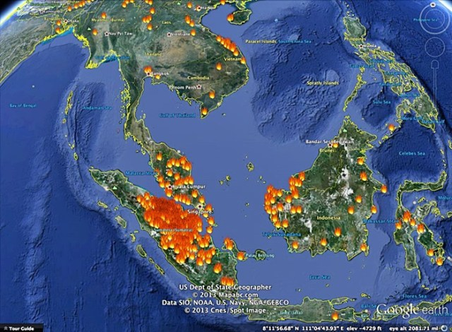 hotspots in asia