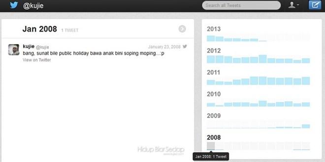 Cara Semak Sejarah Tweet di Twitter